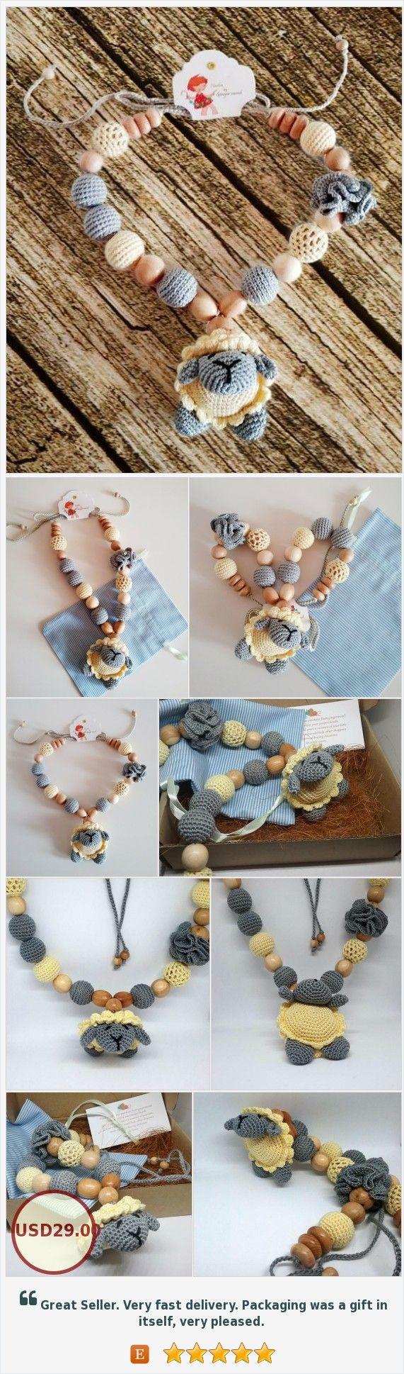 children's accessories handmade by gingermood-#Nursingnecklace , #Teethingnecklace,#Amigurumicrochet, #Breastfeeding, #Montessoriinspired