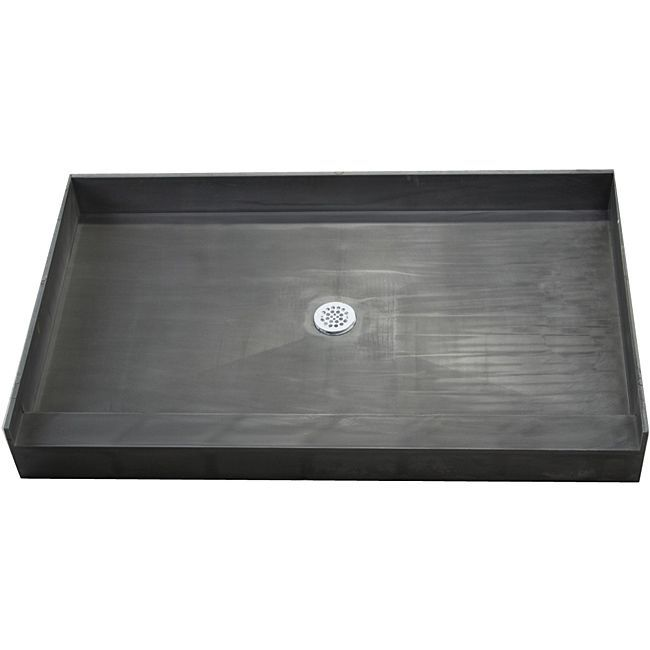 Tile Ready Shower Pan 37 x 72 Center PVC Drain | Overstock.com Shopping - The Best Deals on Shower Kits