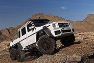 """メルセデス・ベンツ、8000万円の6輪駆動Gクラス「G 63 AMG 6×6」を5台限定発売 / 軍用車両や特殊車両で培った技術を採用した""""究極のオフロードモンスター"""" - Car Watch"""