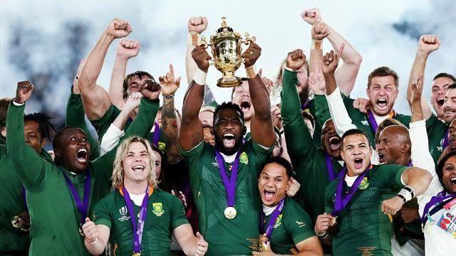 L Afrique Du Sud Etrille L Angleterre Et Decroche Son Troisieme Titre De Champion Du Monde 12 32 Coupe Du Monde Afrique Rugby