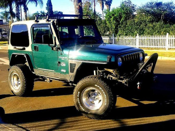 eBay: 2000 Jeep Wrangler Sahara 2000 Jeep Wrangler TJ Sahara #jeep #jeeplife