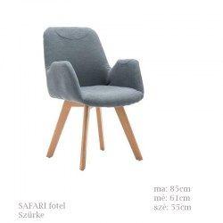 Safari fotel szürke színben
