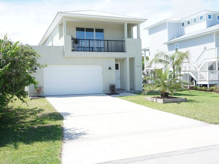 Vilano Beach House Rentals Part - 45: NEW VILANO BEACH HOME 1ST FLOOR 1 BED BATH WALK TO BEACH. Property Is Only