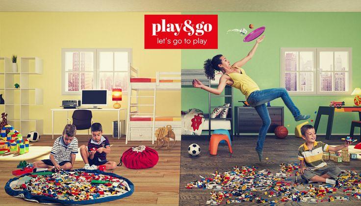 De perfecte oplossing voor het opbergen of meenemen van al uw speelgoed!