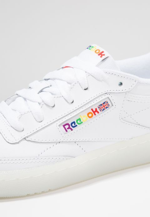 cd8349da079 CLUB C 85 - Sneakers laag - white/rainbow @ Zalando.nl 🛒 | clothing ...