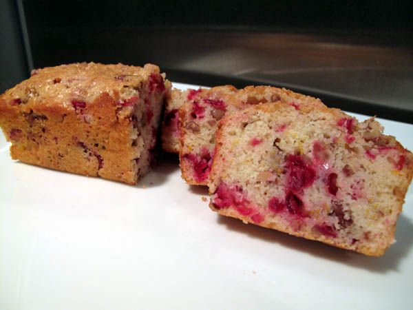 Orange Cranberry Nut Mini Loaves | Quick Breads with Cranberries | Pi ...