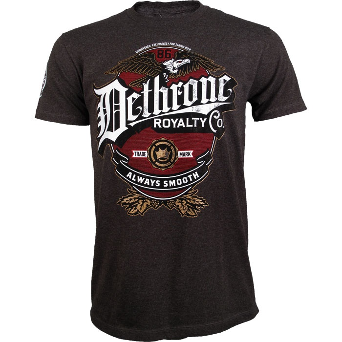 Dethrone Always Smooth Ben Henderson 150 Shirt - MMAWarehouse.com - MMA Gear, MMA Clothing, MMA Shorts, MMA Gloves, MMA Shirts and more!