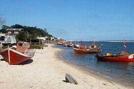 Barcos De Pesca, Barcos, Água, Mar