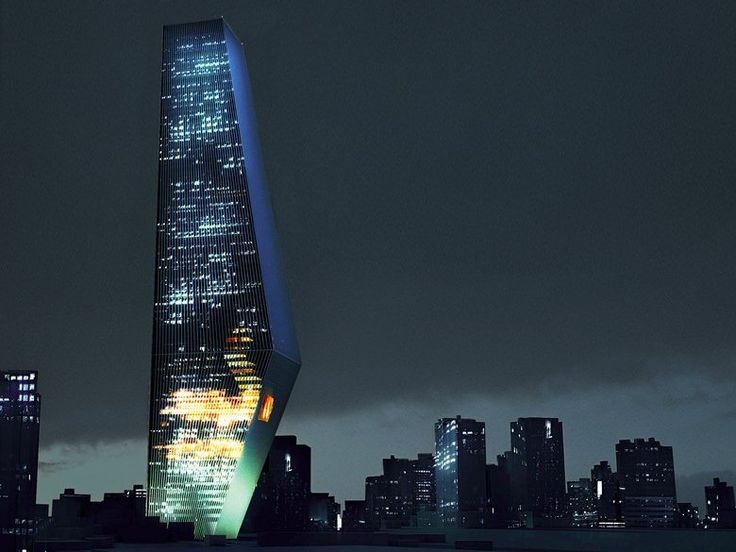 Torre Bicentenario, Città del Messico, 2010 - Office for Metropolitan…