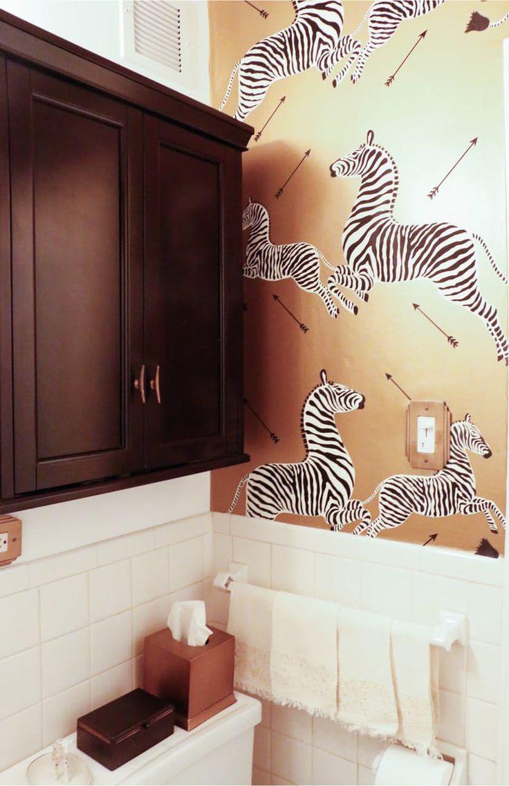 Обои зебра