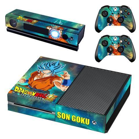HelloDefiance, Saiyan God Goku Skin - Xbox One Protector, best, HelloDefiancecheap