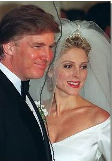 Donald and Ivana Trump wedding!