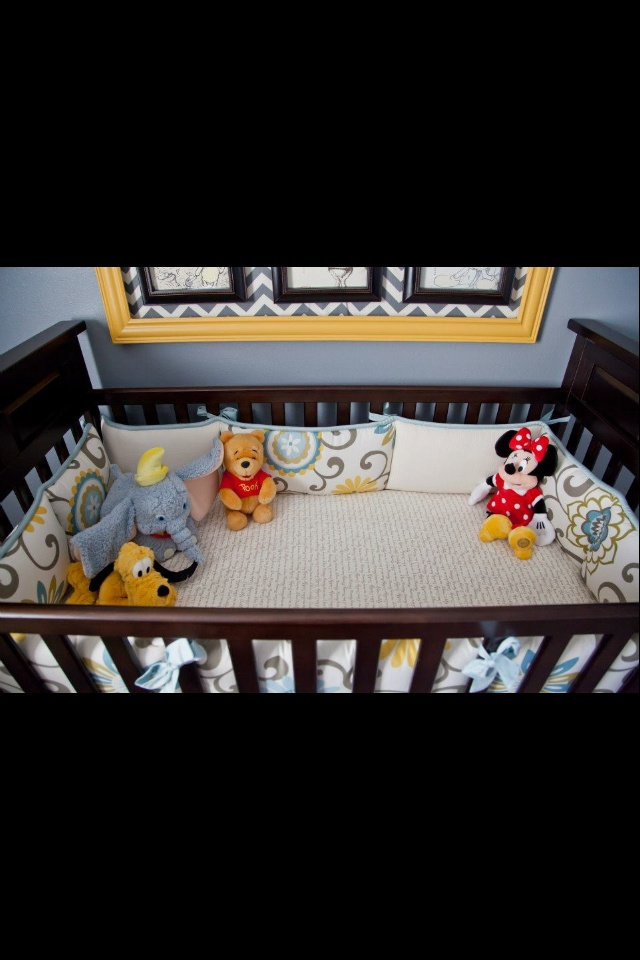 """""""Vintage Disney"""" baby room pic #6 (created by Ashley Vesely)"""