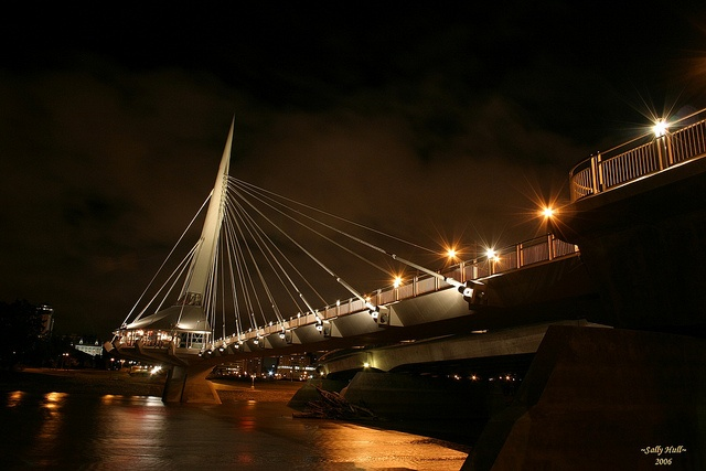 Esplanade Riel Bridge--Winnipeg, MB