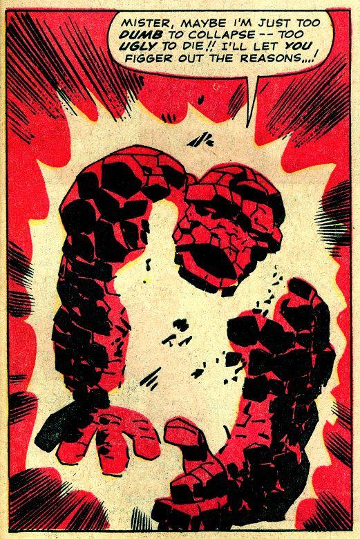 Serieruta från Fantastiska fyran, Jack Kirby.