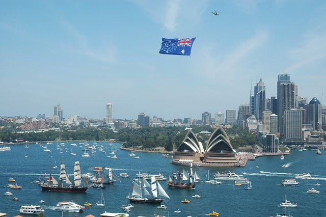 Click here for information on this Australia Day - Sydney Harbour photo. You can buy handmade greeting cards with this photo for just $4.50 delivered. www.theshortcollection.com.au/Sydney