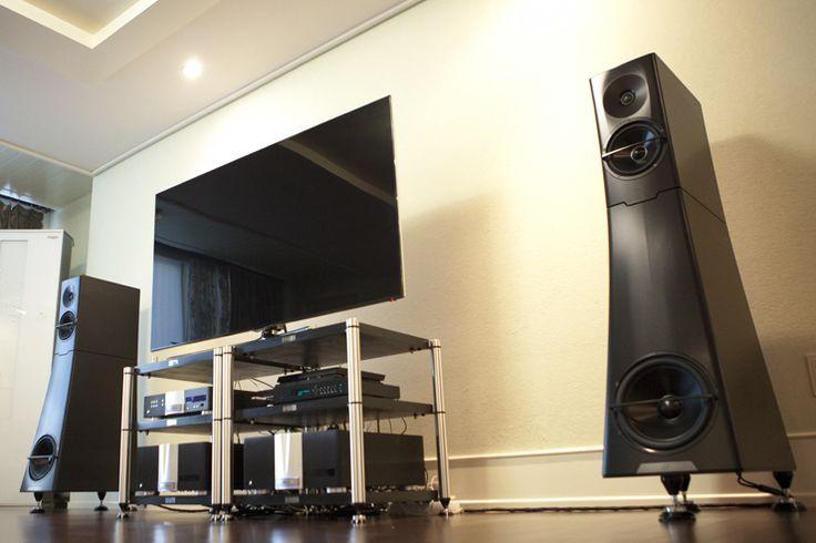 YG Acoustics Hailey 1.2 with Krell set up