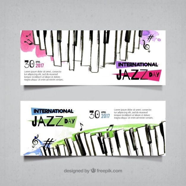 Watercolor Music Vectors, Photos and PSD files | Free Download