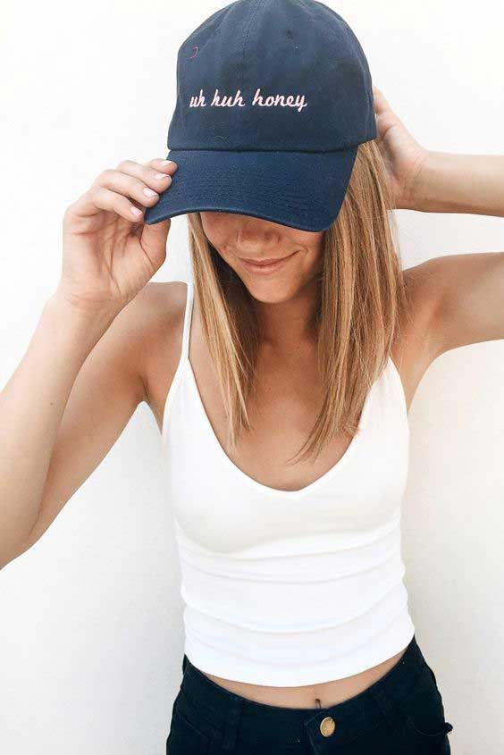 17 Best ideas about Baseball Hat Outfits on Pinterest ...