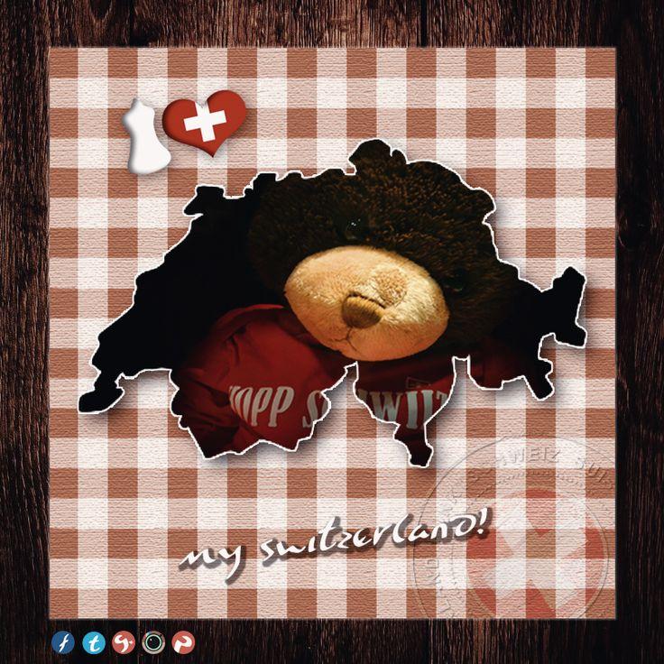 "Model: Bär, wurde soeben geshootet für ""My #Switzerland -PunktSchweiz"". / Model: Bear, has just been photographed for #My_Switzerland -point Switzerland"". Greetings between and -viel gfreuts.. #IloveSwitzerland - #Schweiz #Suisse #Svizzera #Svizra #Switzerland #PunktSchweiz"