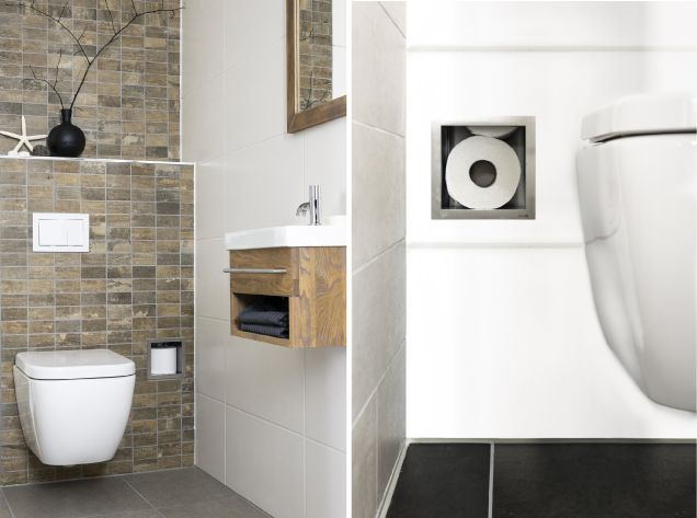 De 34 b sta toilet idee n bilderna p pinterest - Kleur toilet idee ...