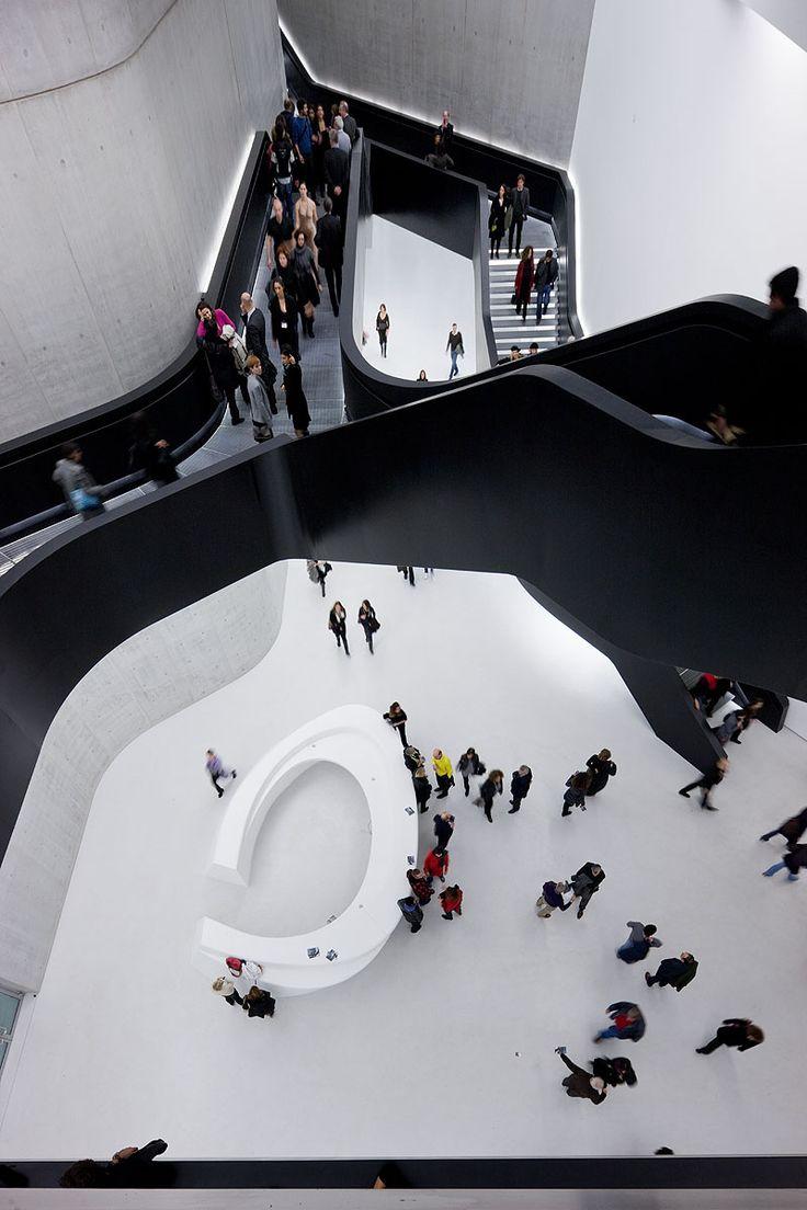 Zaha Hadid's MAXXI - Interior Circulation | Credit: Iwan Baan