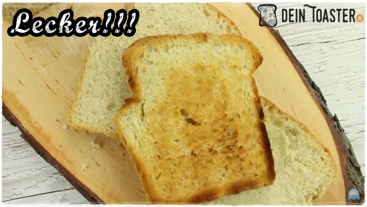 ᐅ Toast selber backen ✅ Du möchtest dein Toastbrot mal selber backen? ✅ Dann schau dir dieses einfache Toastbrot Rezept mit Video ✅