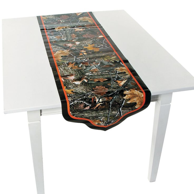 Camouflage Wedding Table Runner - OrientalTrading.com