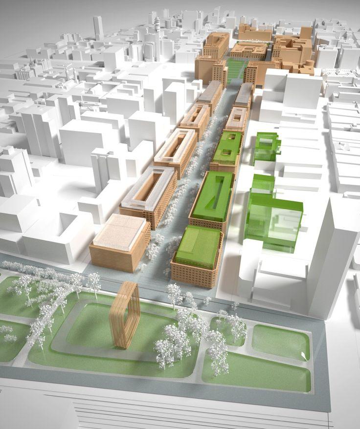 Imagen 2 de 19 de la galería de Propuestas Concurso Plan Maestro Eje Bulnes. Fotografía de Mytaki Arquitectura