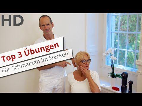 Top 3 Übungen gegen Nackenverspannungen // Nackenschmerzen, steifer Nacken, steifer Hals - YouTube