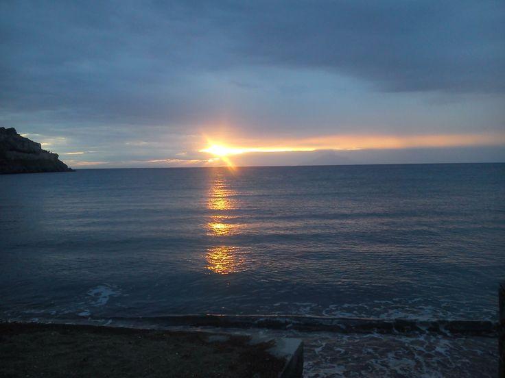Sunset @ Romeikos Bay, Lemnos, Northern Aegean, Greece.