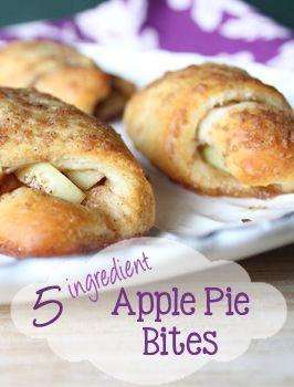 5 Ingredient Apple Pie Bites - Everday Made Fresh