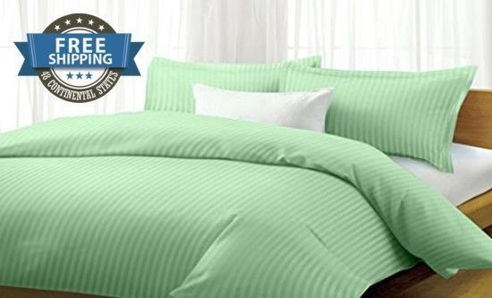 Bedding Set,Queen Size,Comforter Cover,Matching Sets Twin,4 Pc,Microfiber green #MilleniumLinen