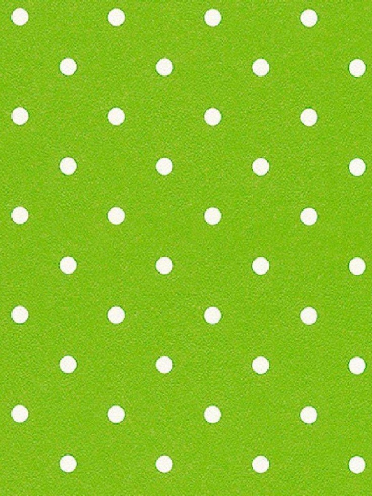 Rasch green and white polka dots wallpaper would be for Green and white wallpaper