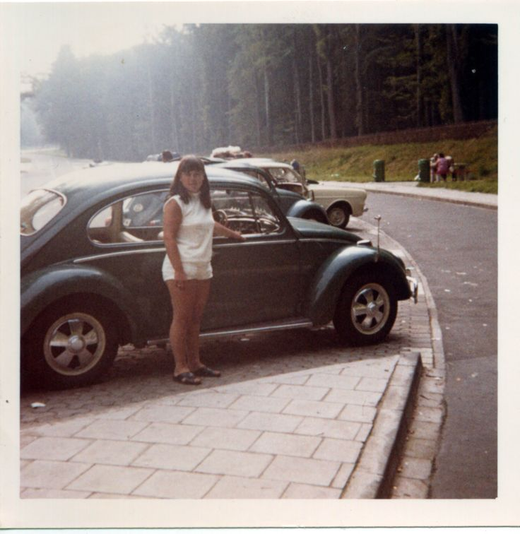 From the family album. Photo dated 06-06-1971. #VW #Beetle #vintage #Realvintage #Fuchs #Heidelberg #GL-27-90