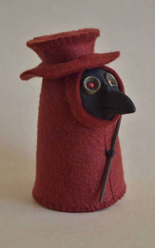 The Littlest Plague Doctor - TOYS, DOLLS AND PLAYTHINGS