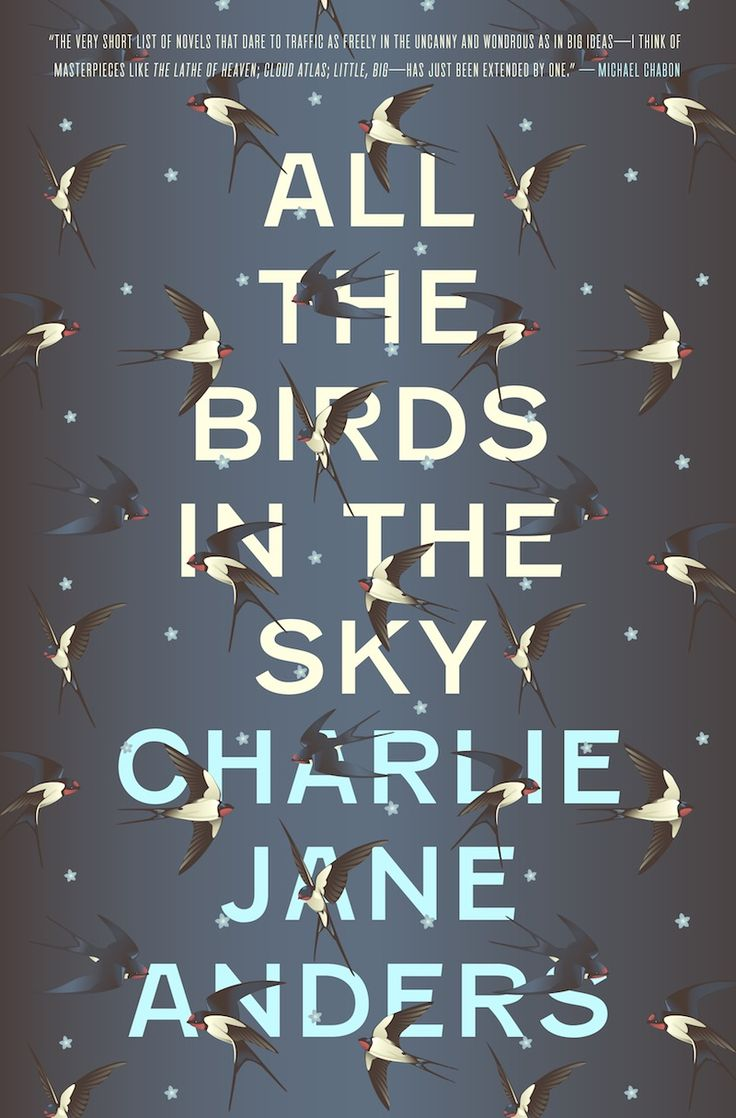 Check Out The Cover For My New Novel, All The Birds In The Sky