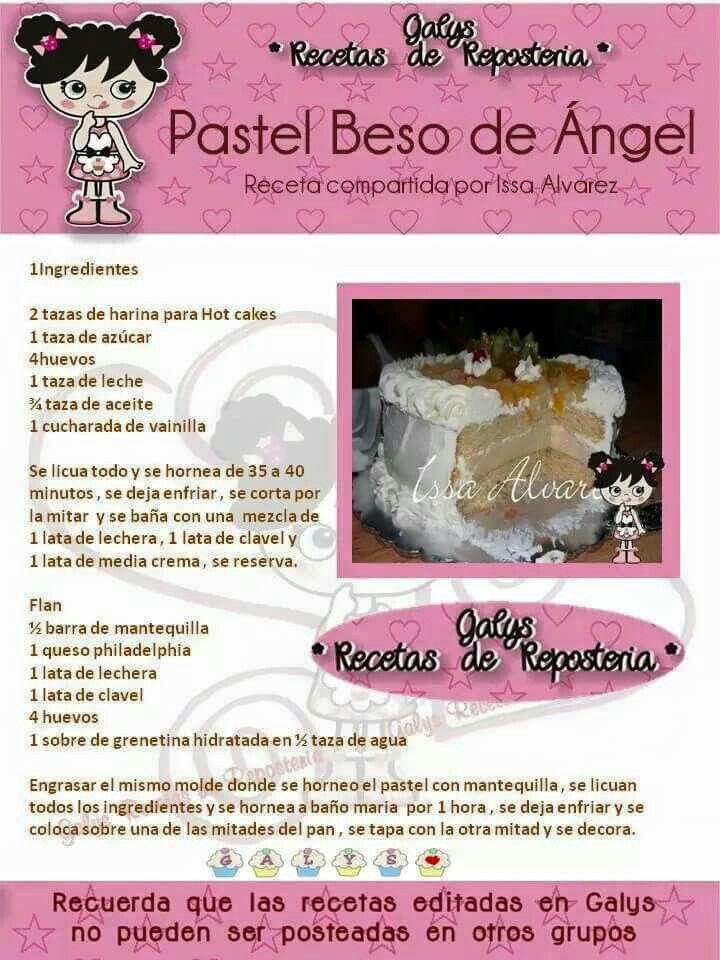 Pastel beso de angel