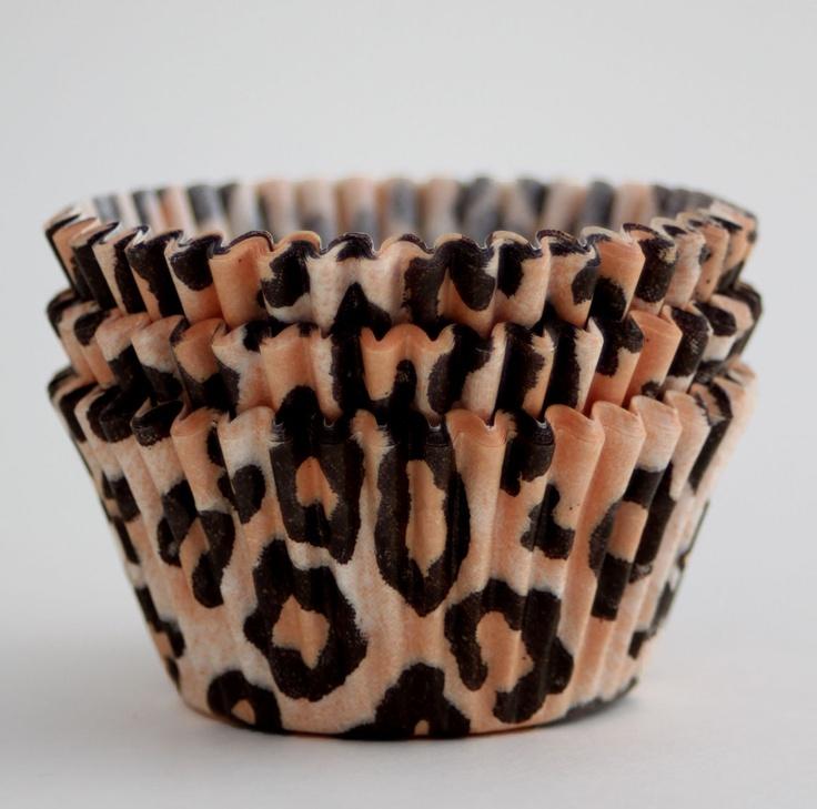cupcakes pinterest leopards - photo #16