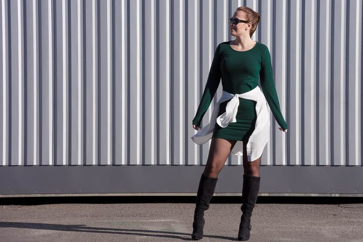 Emmy's Life - MOSS GREEN DRESS http://emmys.life/2015/october/moss-green-dress.html #outfit #fashionblog #finland #finlandssvensk