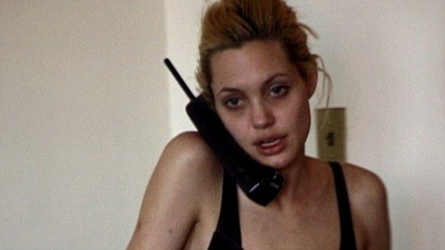 Angelina Jolie video in grip of heroin addiction emerges | Mail Online