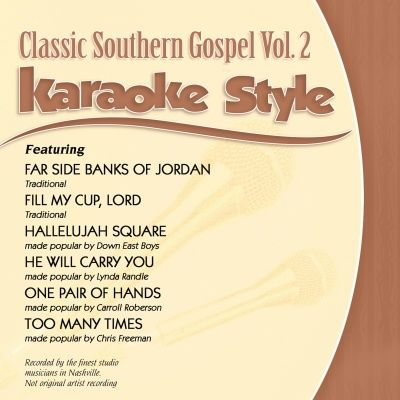 34 best daywind karaoke images on pinterest karaoke guitars and karaoke style classic southern gospel vol 2 malvernweather