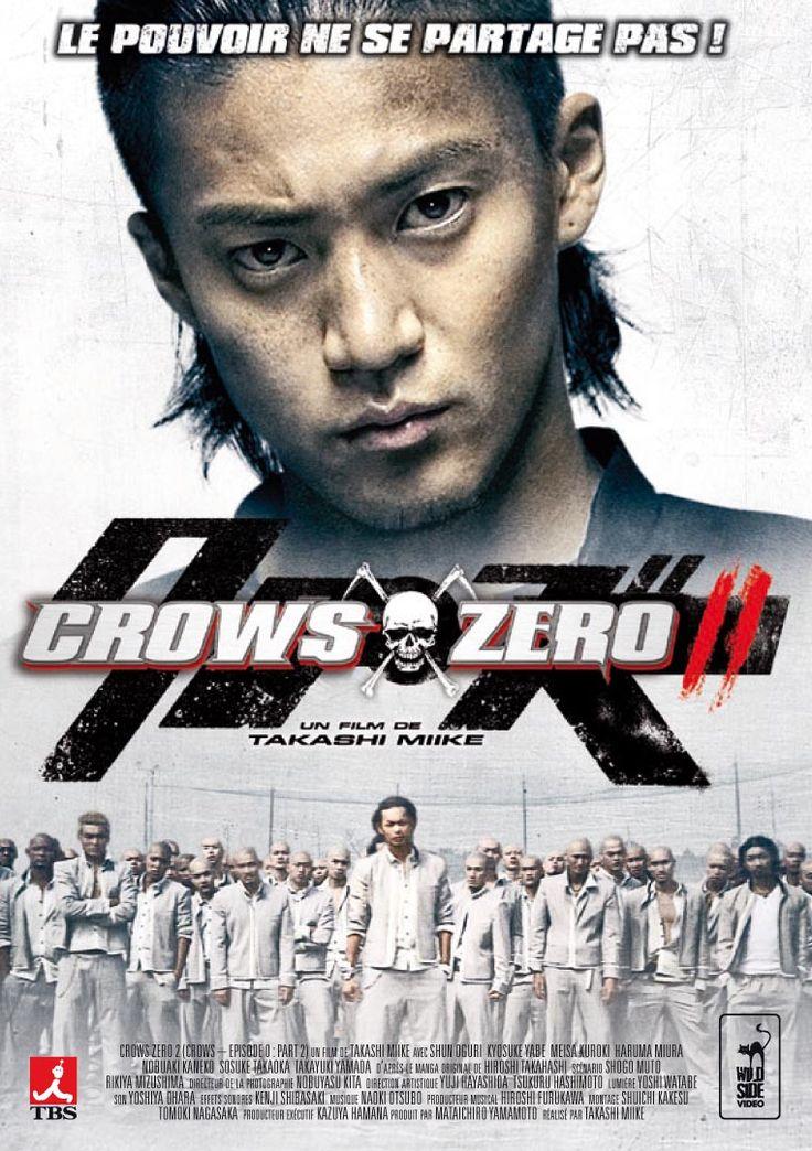Suite du film Crows Zero, Crows Zero 2 est sorti début novembre 2009 en France. Du titre original Kurôzu zero II, il est réalisé par Takashi Miike tout comme le film précédent. Aussi bon que le premier volet, nous retrouvons Genji, Serizawa et les autres pour cette fois-ci faire face à un plus grand ennemi.