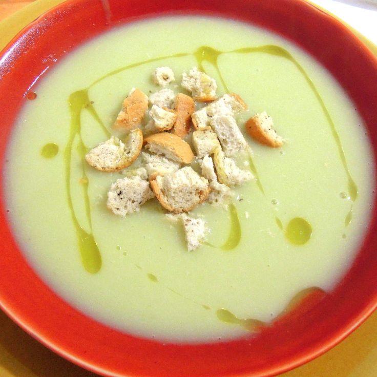 Ricetta Vellutata di porri e patate pubblicata da SandraD - Questa ricetta è nella categoria Zuppe, passati e minestre