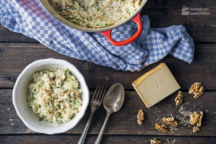 Risotto mit Fontina-Käse und Walnüssen | Madame Cuisine Rezept