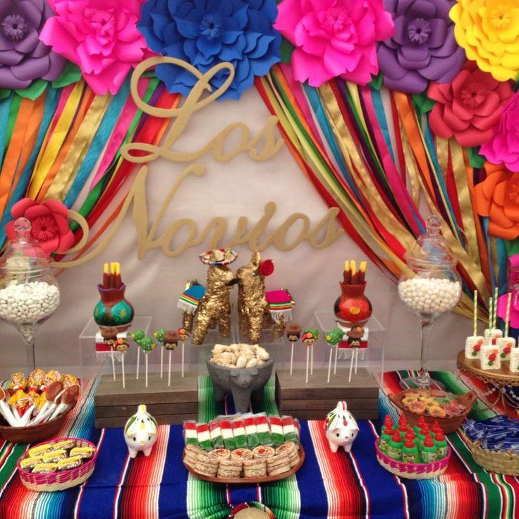 Mexican Themed Wedding Reception: Fiesta / Mexican Bridal/Wedding Shower Party Ideas