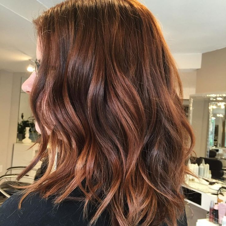 The 25+ best Copper balayage ideas on Pinterest