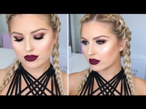 Todays makeup look is super dark and vampy and i'm obsessed! I hope you enjoy it :) xoxo - MANNYMUA PALETTE https://www.youtube.com/watch?v=gWscg-DzioI - CRA...