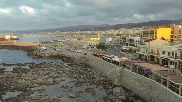 Video Journeys: A birds eye view of Rethymnon