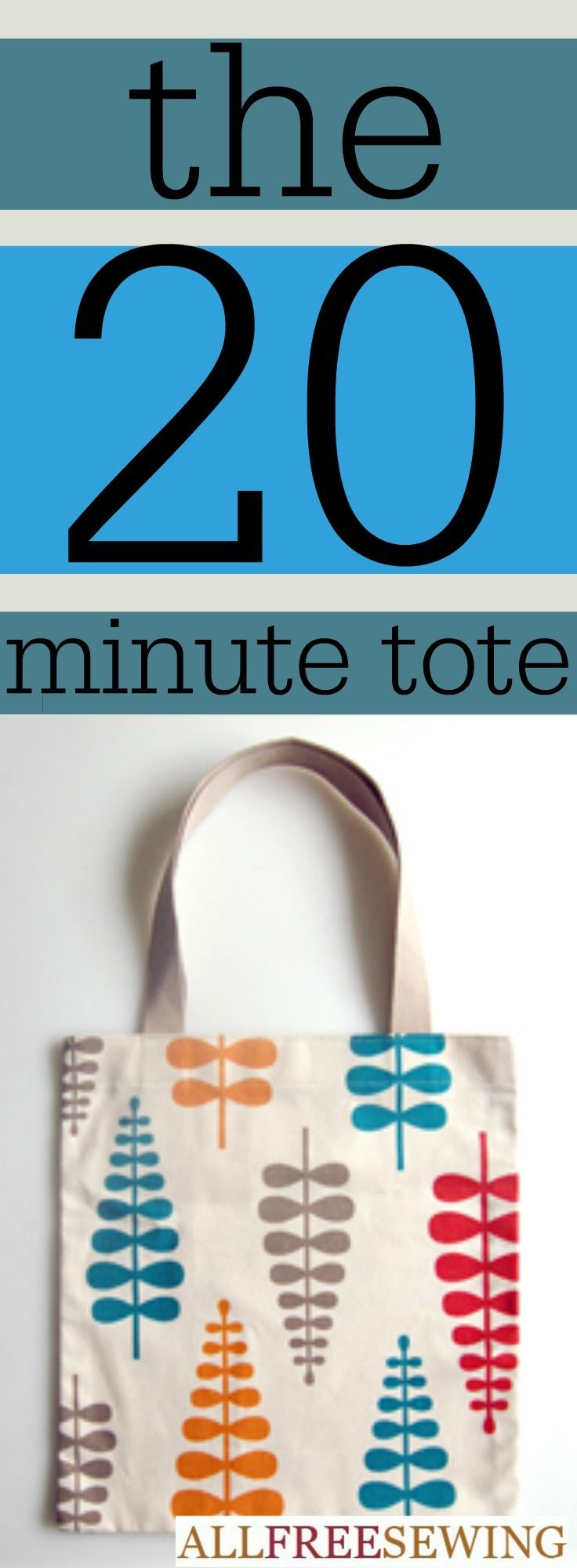 20 Minute Sewing Project Ideas | AllFreeSewing.com